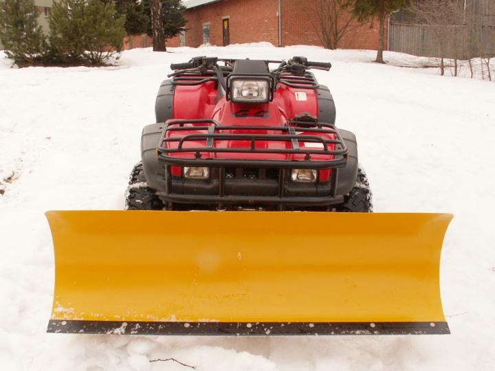 SNOW-CLEANING SHIELD