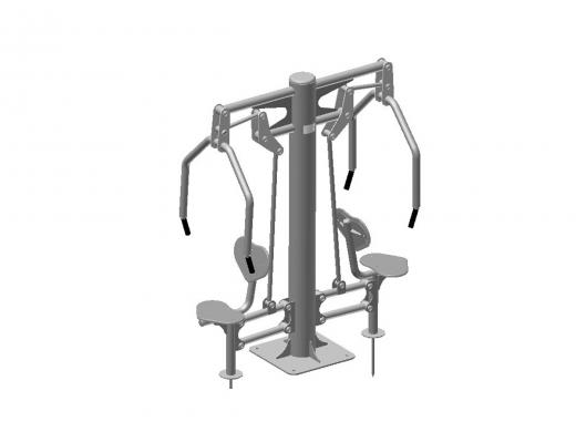 OUTDOOR EXERCISE MACHINE  TR-05A