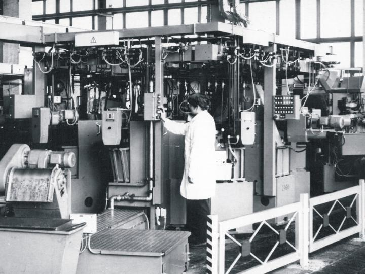 Rokiskis Machine Factory in soviet period